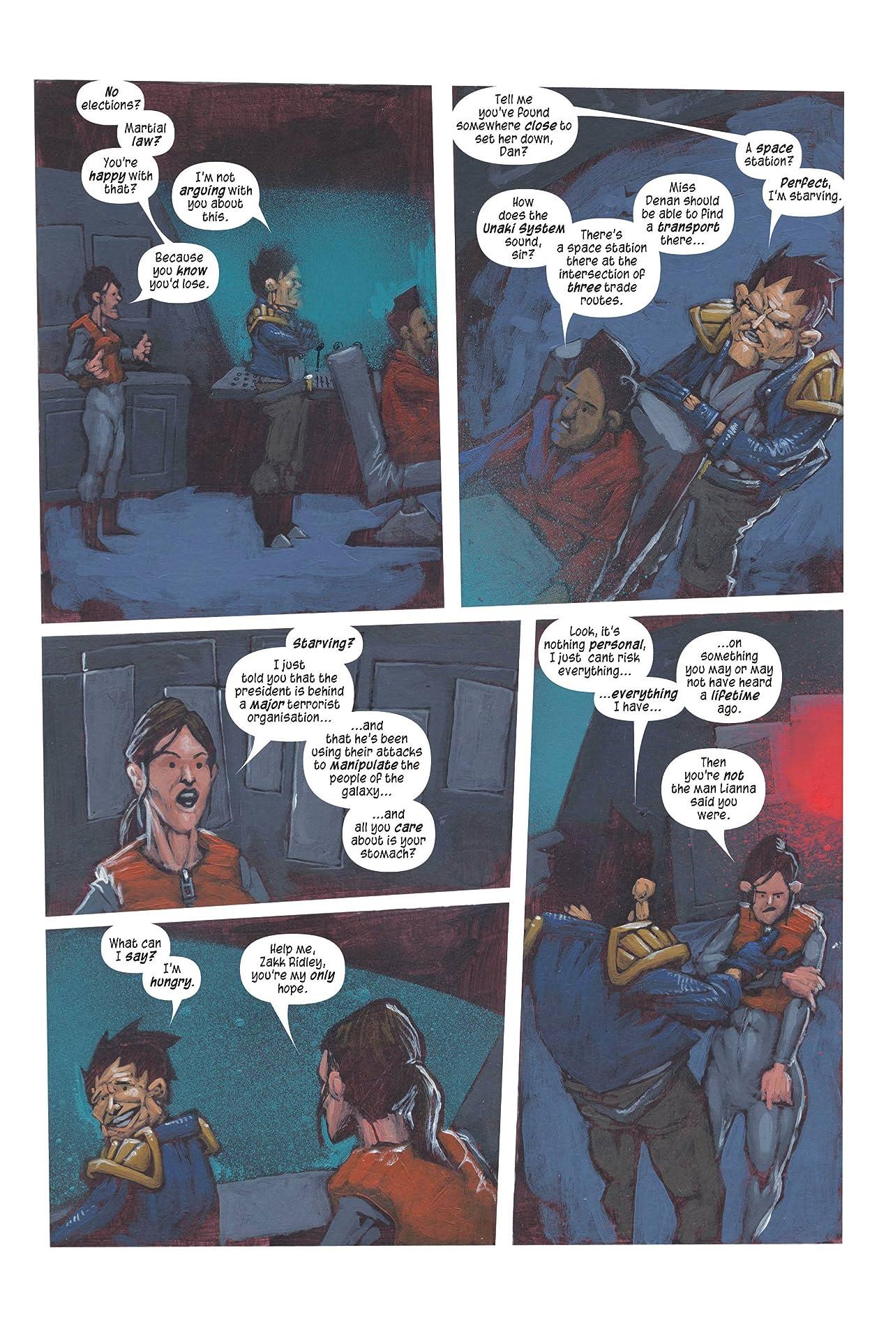 The Intergalactic Adventures of Zakk Ridley #3