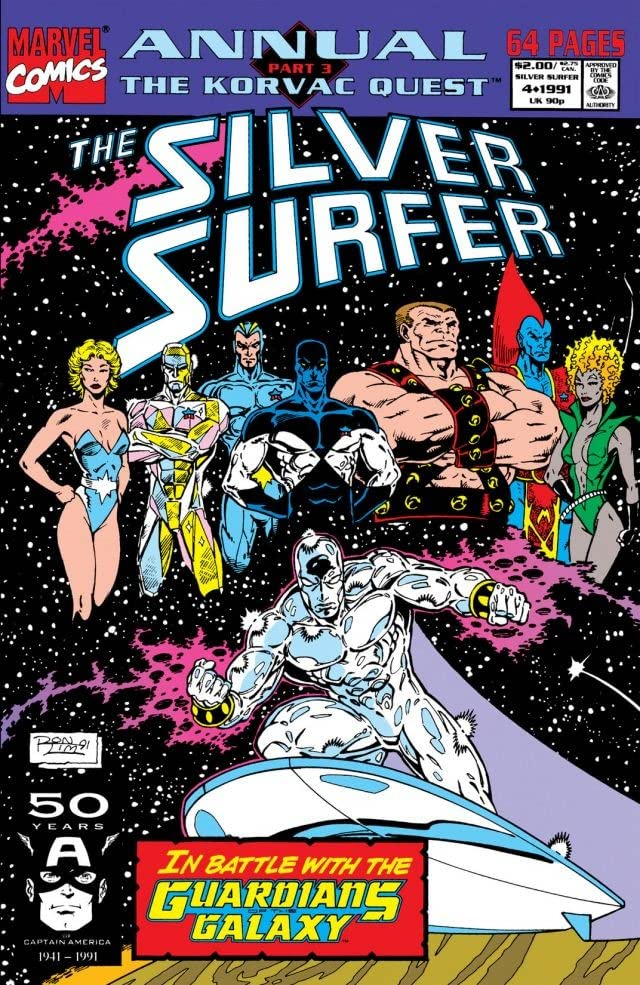 Silver Surfer (1987-1998) Annual #4
