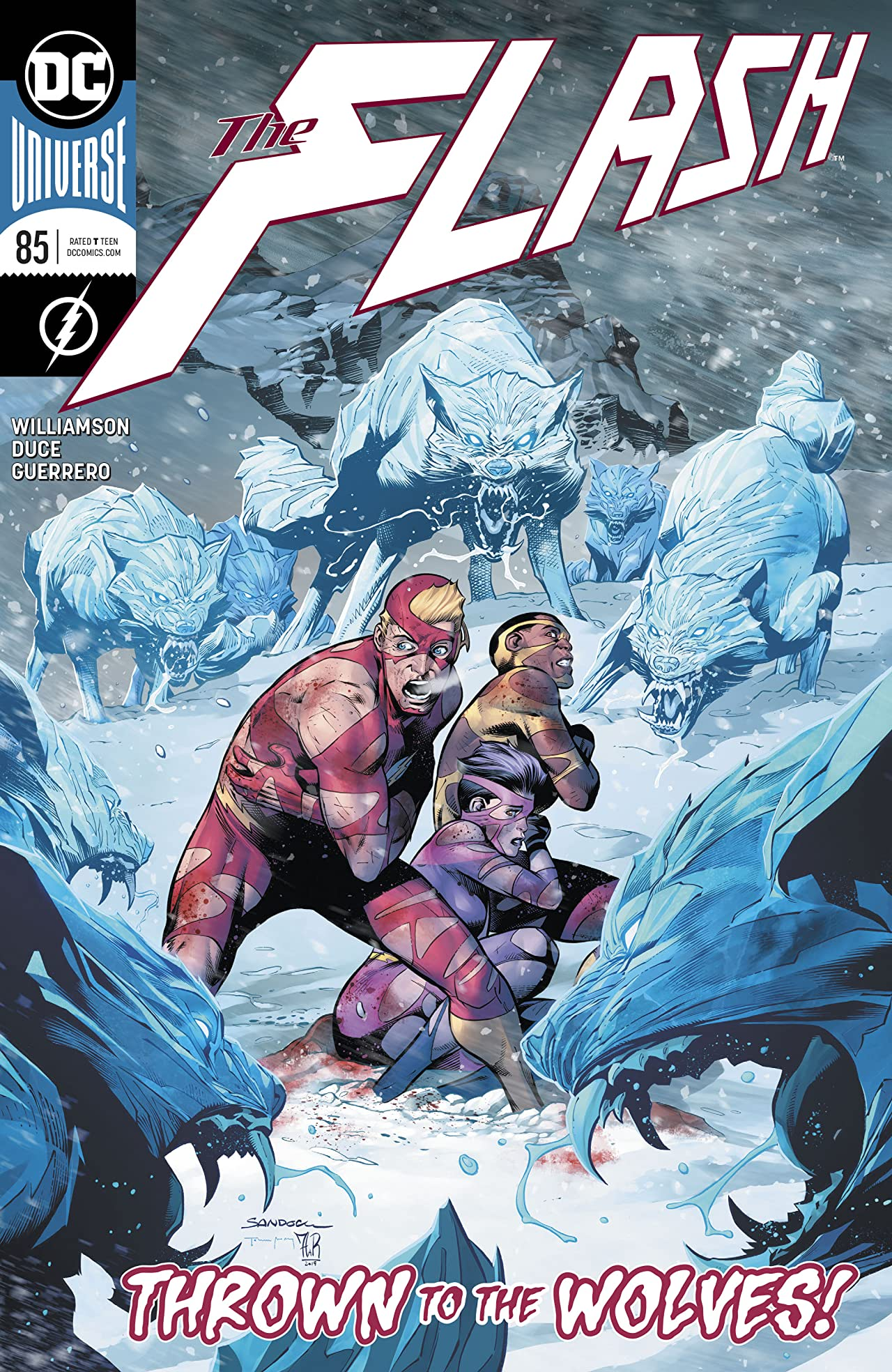 The Flash (2016-) #85