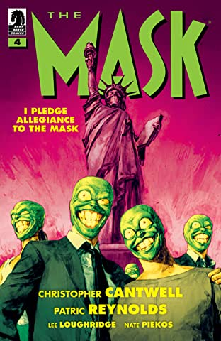 The Mask: I Pledge Allegiance to the Mask #4
