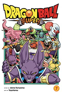 Dragon Ball Super Tome 7: Universe Survival! The Tournament of Power Begins!!