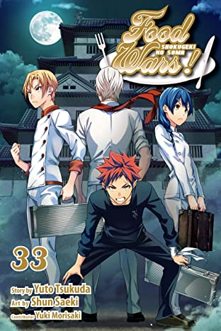 Food Wars!: Shogukeki no Soma Vol. 33: The True Value of the Noir