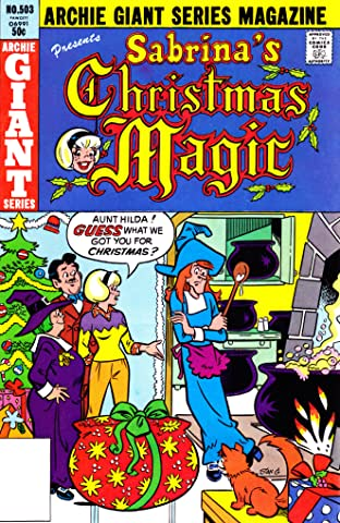 Sabrina's Christmas Magic (Archie Giant Series #503) #10