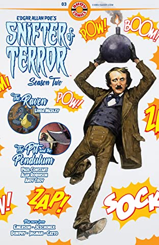 Edgar Allan Poe's Snifter of Terror Vol. 2 #3