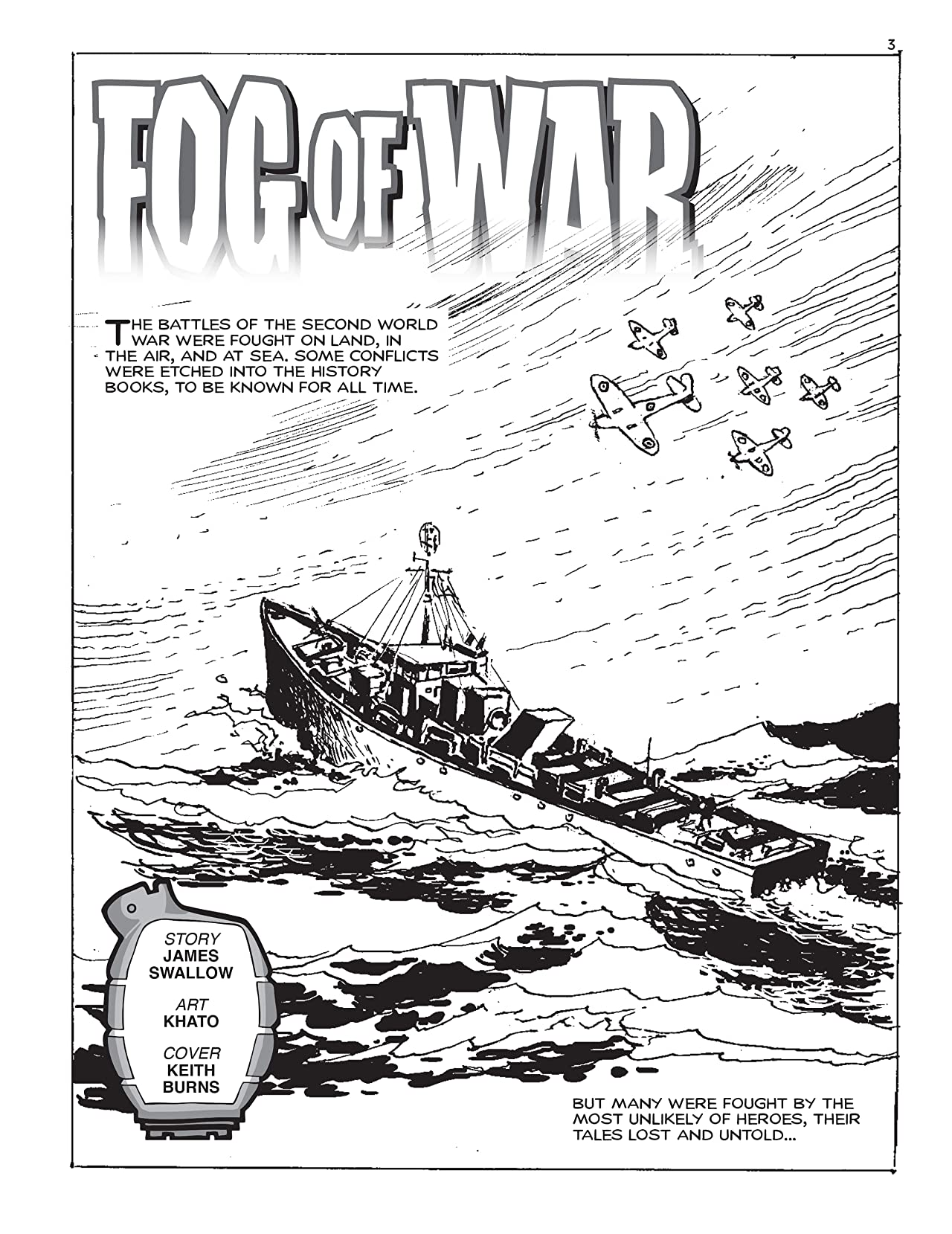 Commando #5297: Fog Of War