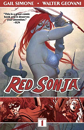 Red Sonja Tome 1: Queen of Plagues