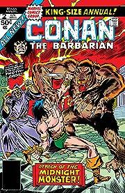 Conan The Barbarian (1970-1993) Annual #2