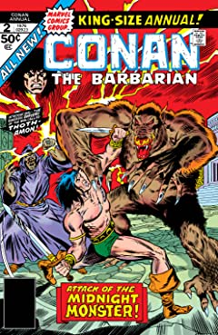 Conan The Barbarian (1970-1993) Annual #2