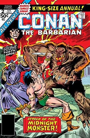 Conan The Barbarian (1970-1993) Annual No.2