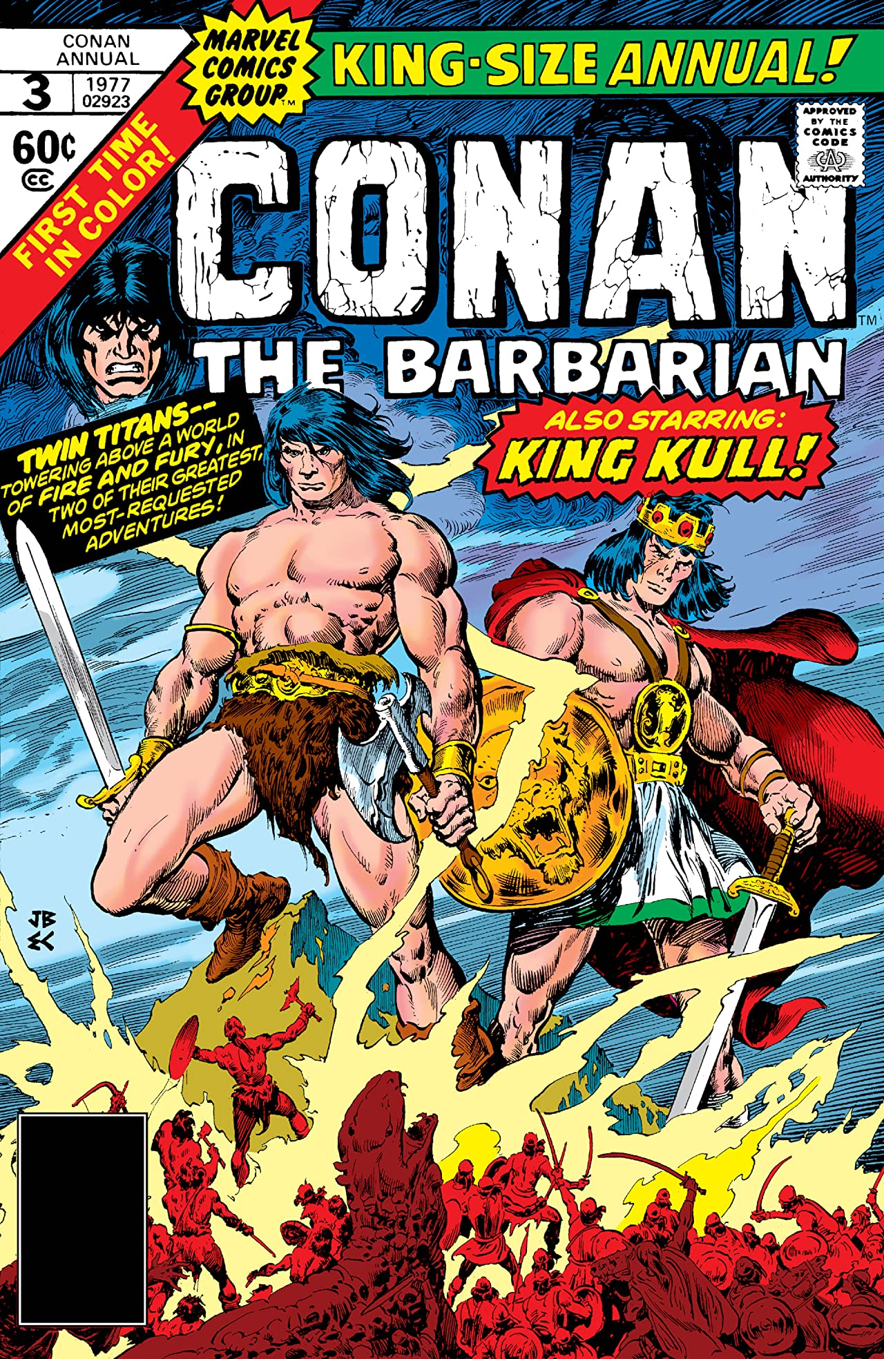Conan The Barbarian (1970-1993) Annual #3
