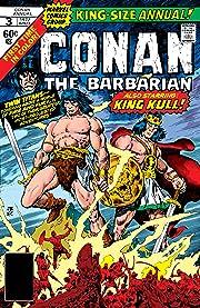 Conan The Barbarian (1970-1993) Annual #3