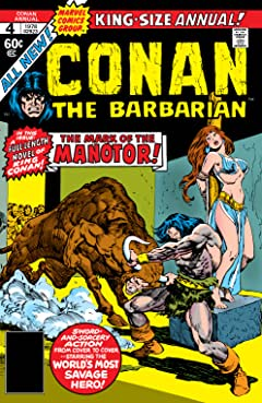 Conan The Barbarian (1970-1993) Annual #4