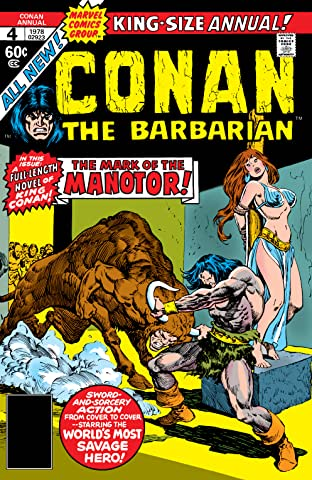 Conan The Barbarian (1970-1993) Annual No.4