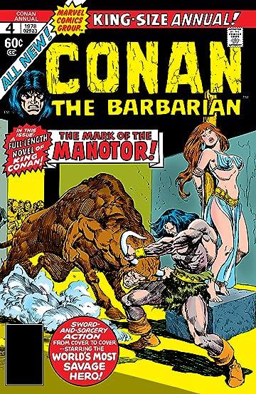 Conan The Barbarian (1970-1993) Annual #4