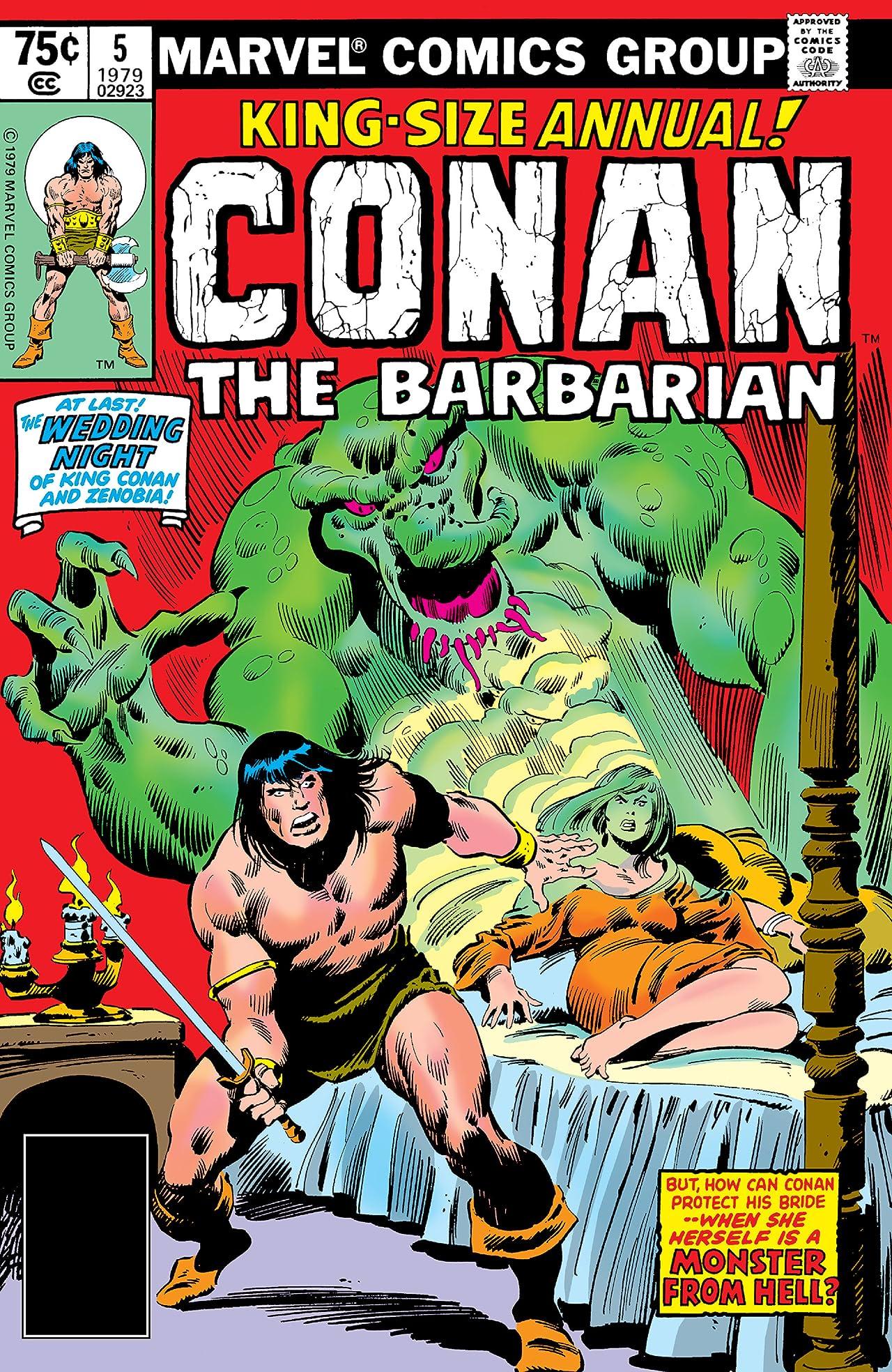 Conan The Barbarian (1970-1993) Annual #5