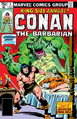Conan The Barbarian (1970-1993) Annual #5