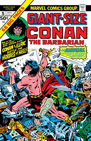 Conan The Barbarian Giant-Size (1974-1975) No.5