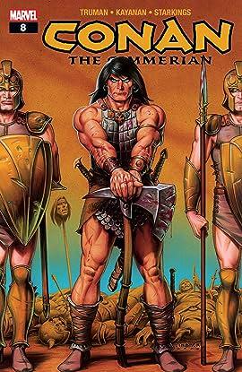 Conan The Cimmerian (2008-2010) #8