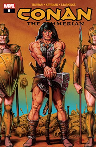 Conan The Cimmerian (2008-2010) #8