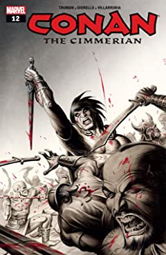 Conan The Cimmerian (2008-2010) #12