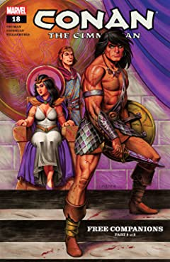 Conan The Cimmerian (2008-2010) #18