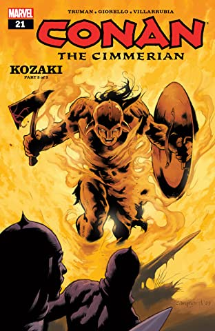 Conan The Cimmerian (2008-2010) #21