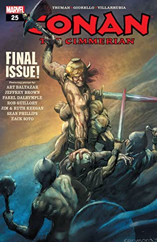 Conan The Cimmerian (2008-2010) #25