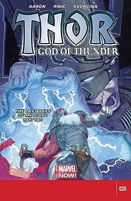 Thor: God of Thunder #20
