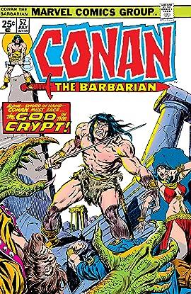 Conan The Barbarian (1970-1993) #52