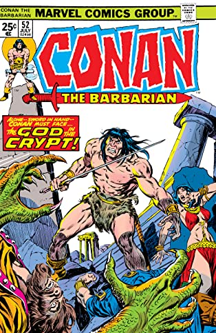 Conan The Barbarian (1970-1993) #52