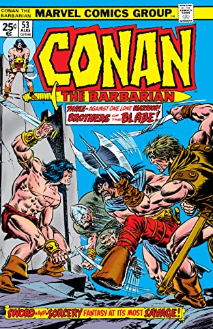 Conan The Barbarian (1970-1993) #53
