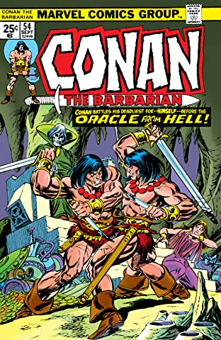 Conan The Barbarian (1970-1993) #54