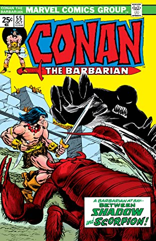 Conan The Barbarian (1970-1993) #55
