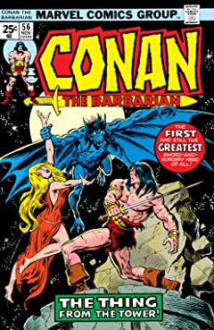 Conan The Barbarian (1970-1993) #56