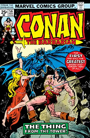Conan The Barbarian (1970-1993) #56