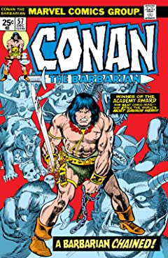 Conan The Barbarian (1970-1993) #57