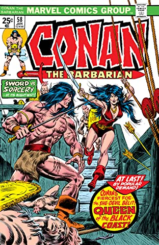 Conan The Barbarian (1970-1993) #58