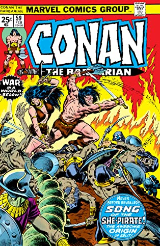 Conan The Barbarian (1970-1993) #59