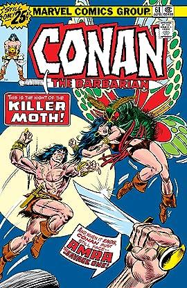 Conan The Barbarian (1970-1993) #61
