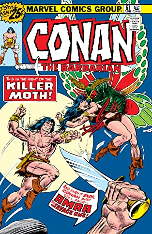 Conan The Barbarian (1970-1993) #61