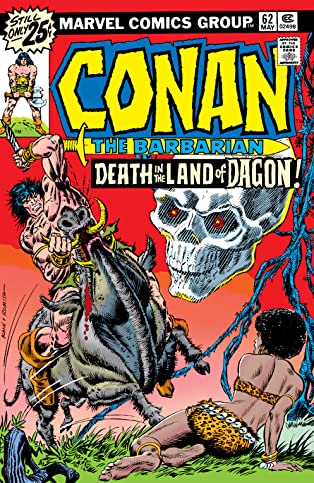 Conan The Barbarian (1970-1993) #62