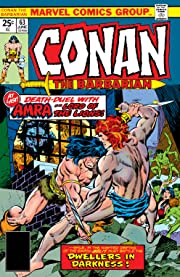 Conan The Barbarian (1970-1993) #63
