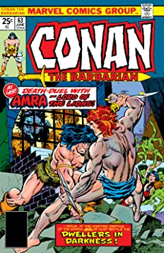 Conan The Barbarian (1970-1993) #63