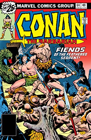 Conan The Barbarian (1970-1993) #64