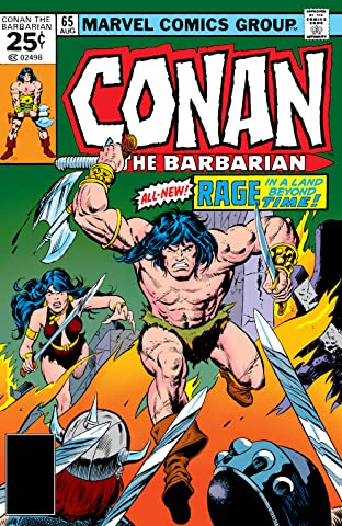 Conan The Barbarian (1970-1993) #65