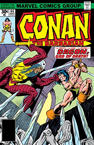Conan The Barbarian (1970-1993) #66