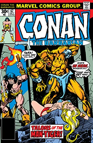 Conan The Barbarian (1970-1993) #67