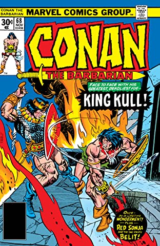 Conan The Barbarian (1970-1993) #68