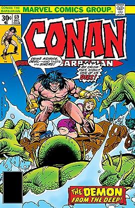 Conan The Barbarian (1970-1993) #69