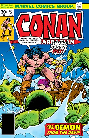 Conan The Barbarian (1970-1993) #69
